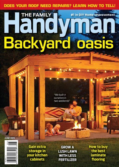 the family handyman family handyman magazine only 6 99 year