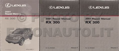 online car repair manuals free 2001 lexus rx engine control 2001 lexus rx 300 wiring diagram manual original