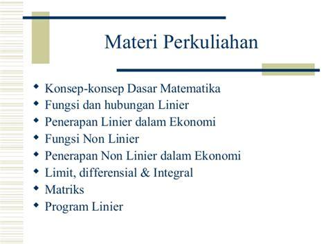 Matematika Terapan Untuk Bisnis Dan Ekonomiby Dumairy 1 pendahuluan matematika bisnis ekonomi