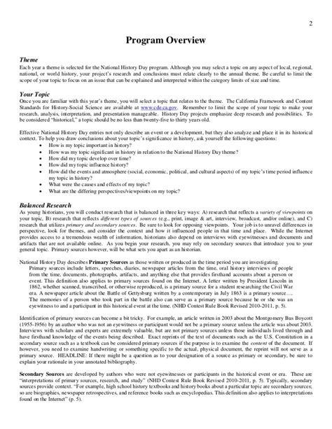how to write a process paper for nhd rule book nhd 2012