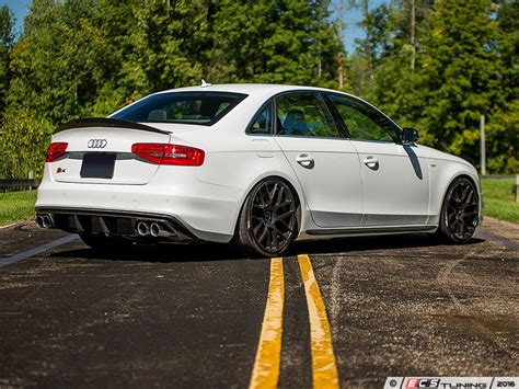 Audi S4 B8 5 Tuning by Ecs Tuning New Ecs B8 5 Carbon Fiber Rear Diffuser
