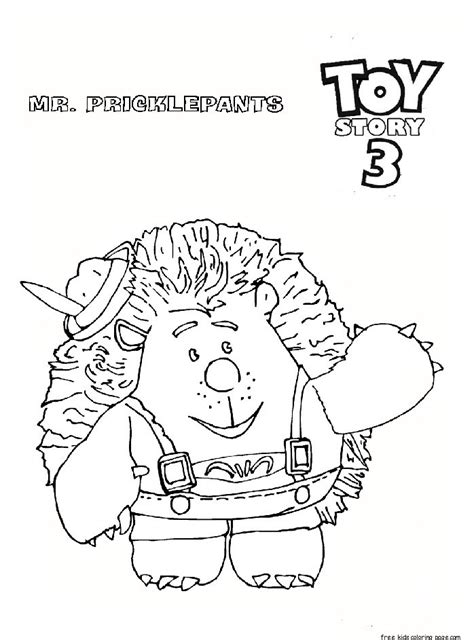 toy story   pricklepants coloring pages  kidsfree