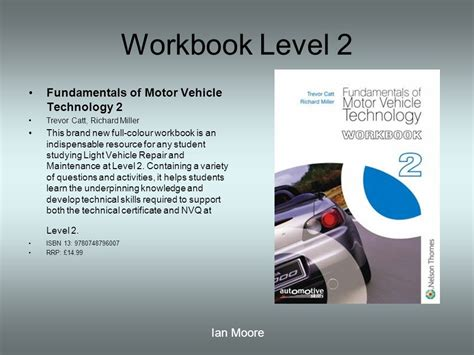 fundamentals of automotive maintenance and light repair workbook answers motor vehicle reading list ppt