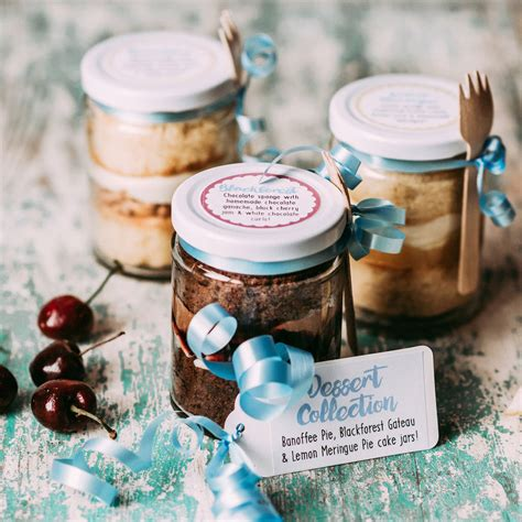 Wedding Cake Jars by Dessert Cake Jar Collection By Frostbite Bakery