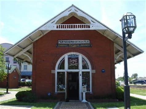 railroad depot fernandina fl stations