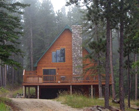 Cabin Rentals In South Dakota Black by Black Vacation Home Log Cabin Near Homeaway Lead