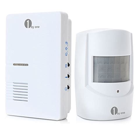 1byone wireless home security driveway alarm 1 in