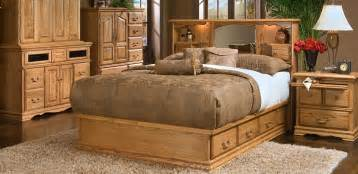 oak wood bedroom furniture set