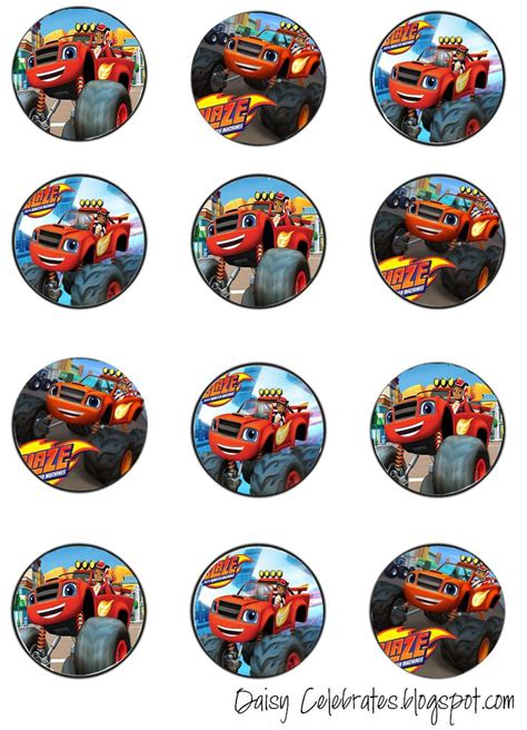 monster truck jam coupons best 232 blaze the monster machines printables images on