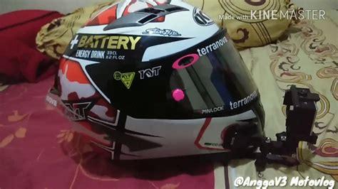 Helm Kyt R10 Flat Visor unboxing helm kyt vendetta 2 kyt espargaro ganteng habis pake flat visor