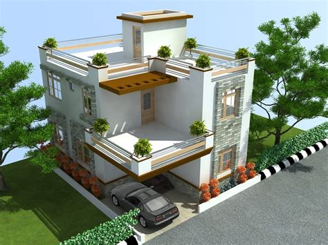 home design d duplex house plans designs april plete