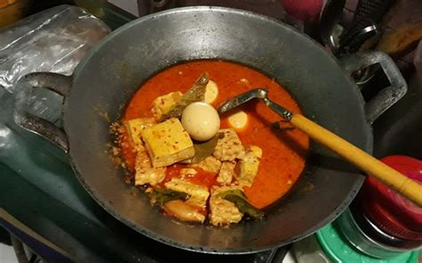 resep masakan terik tahu tempe bumbu kuning resep masakan