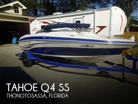 tahoe boats q4 tahoe q4 boats for sale