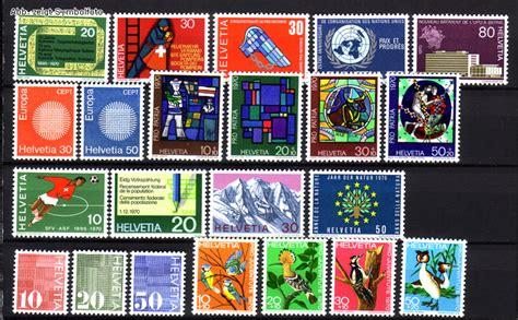 Schweiz Briefmarken Kaufen Briefmarken Schweiz Jahrgang 1970 Komplett Michel Nr 918 939 Postfrisch G 252 Nstig Kaufen Im