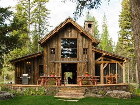 Rustic Home Plan by Timber Barn Homes Rustic Barn House Plans Rustic House