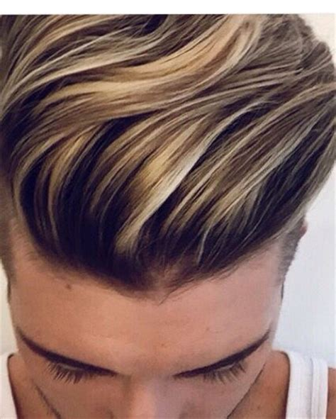 highlights for boys hair mens hair colour highlights men s hairstyles 2018