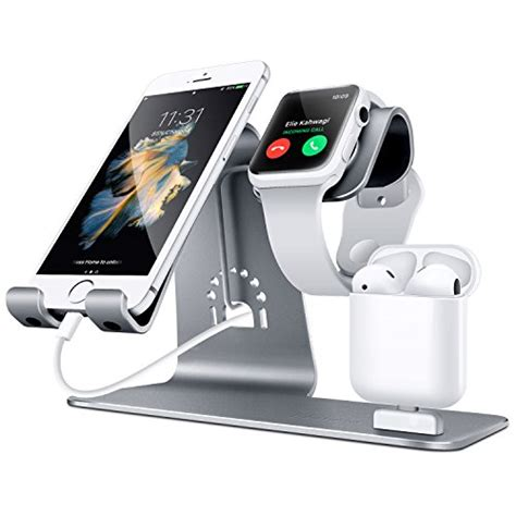 bestand    aluminum apple iwatch stand airpods