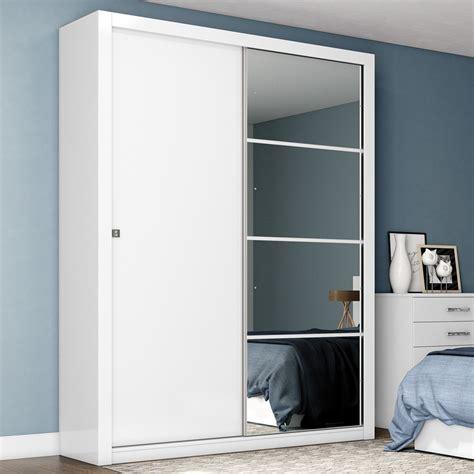 armario guarda roupa guarda roupa solteiro 2 portas alegro henn branco r 728