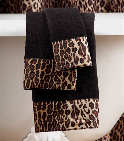 leopard print bathroom sets leopard print bathroom set shower curtain rugs towels