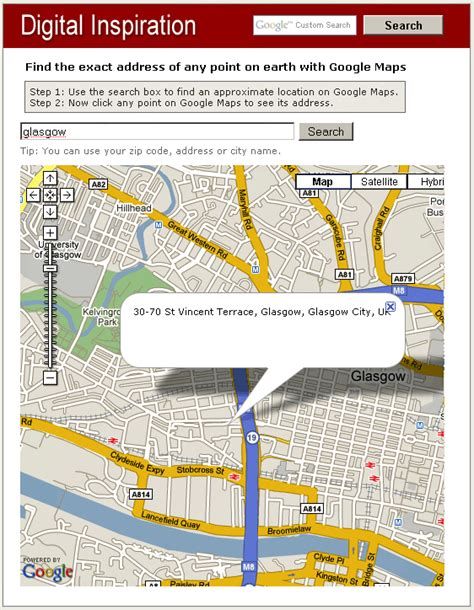 Maps Search For Address Address Finder Get The Address Of Any Point On Maps