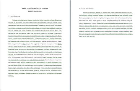 contoh membuat makalah narkoba contoh makalah narkoba caroldoey