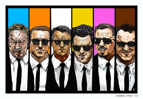 reservoir dogs colors reservoir dogs colour code by lorenzoayuso on deviantart