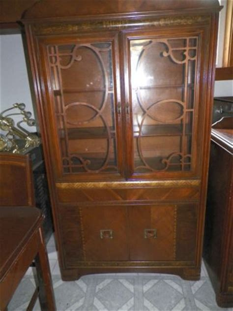 1940 s art deco china cabinet antique 1940s art deco china cabinet bakelite handles