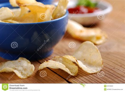 Blueduck Potato Chips potato chips stock image image 33132581