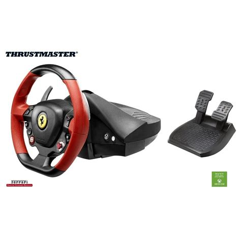 volante thrustmaster xbox one volant thrustmaster 458 spider racing wheel pour