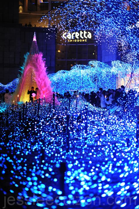christmas illumination in tokyo the world is so