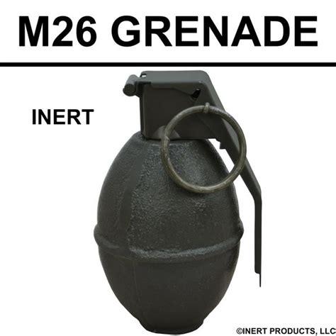 Dummy Replika M26 Frag Grenade inert m 26 grenade inert products llc for official use only