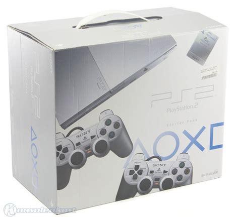 Ps2 Slim Seri 9000x Matrik ps2 console slim 2g scph 9000x satin silver 2 official gamepad equipment box ebay