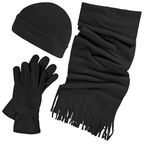 trespass womens quirk 3 winter scarf hat and