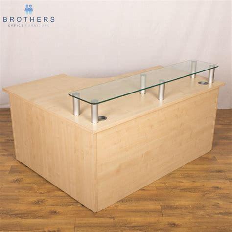 Maple Reception Desk Maple 1600x1200 Reception Desk