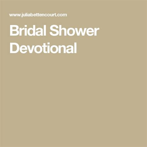 Bridal Shower Devotional by 17 Best Ideas About Bridal Shower Activities On