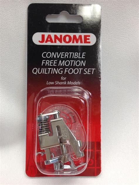 Janome Free Motion Quilting by Janome Convertible Free Motion Quilting Foot Set Blows