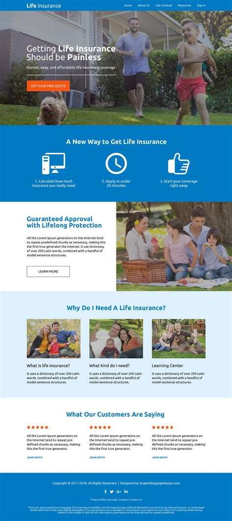Life Insurance Company Res Web Design 03 Life Insurance Responsive Website Template Preview Insurance Responsive Website Template Free