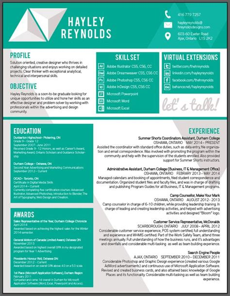 31 best images about resume cv on pinterest