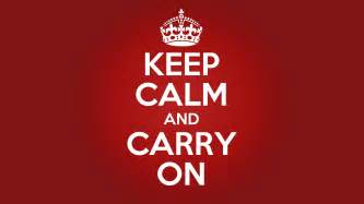 keep calm and carry on your meme