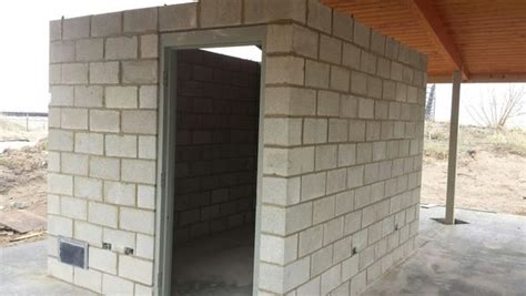 Cinder Block Storage Shed by Chicago Fishing Reports Chicago Fishing Forums View