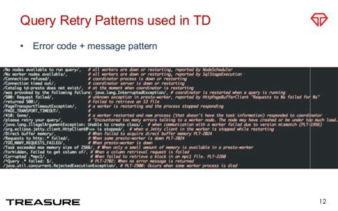 net retry pattern presto as a service tips for operation and monitoring