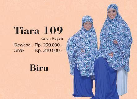 Mukena Tatuis Tiara 112 Putih busana muslim koleksi terbaru