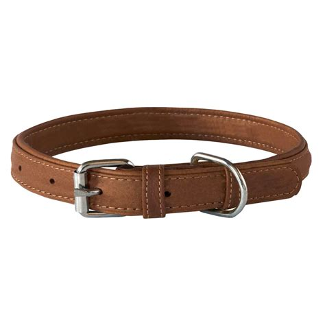 puppy collar rogz leather collar brown leather collars in australia