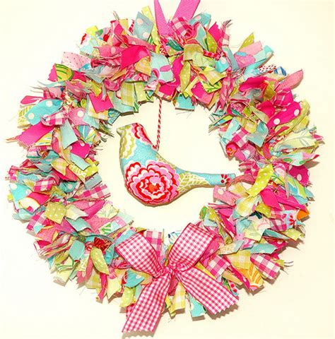 pattern for fabric wreath fabric wreath for a pdf pattern please