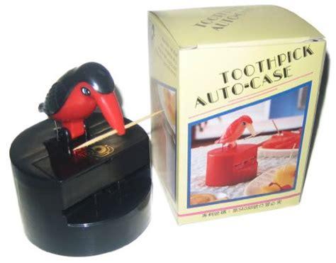 bird toothpick dispenser toothpick dispenser bird color red black new free