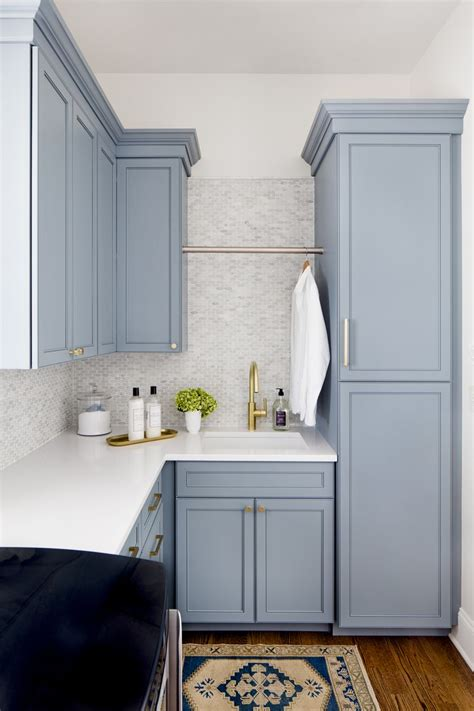 blue cabinets giggles and laundry 25 best ideas about laundry room colors on pinterest