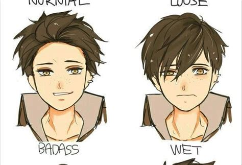 draw reference style young men hairstyles
