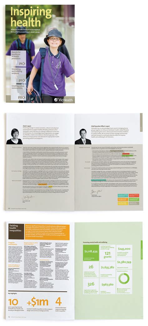 layout of a good report the 5 fundamentals of great annual report design truly