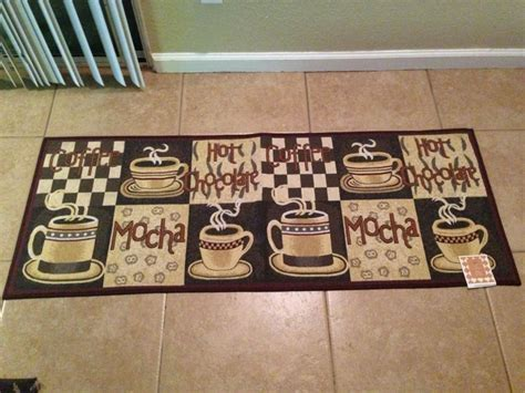 Coffee Kitchen Mat by Large Cafe Coffee Mocha Java Runner Style Kitchen Rug Mat