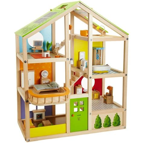 casas de mu ecas miniaturas casa de mu ecas de madera con muebles hape casitas de